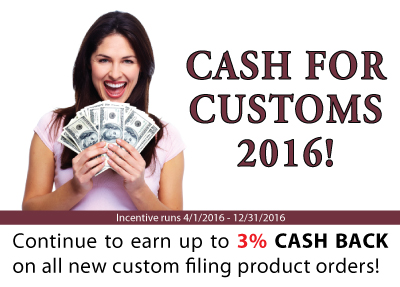 cash for customs